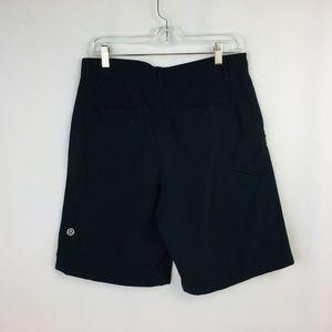 Lululemon Men Black Shorts  Size 32  Fast Drying